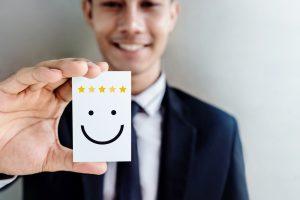making customer happy